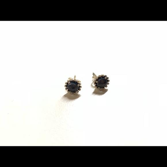 29730bc4e NEW Pandora midnight star blue stud earrings. M_5be12f519539f7362797dbf4